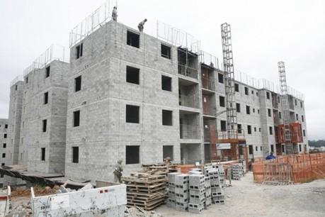 Figura 4: Edifício executado em alvenaria estrutural com blocos de concreto.